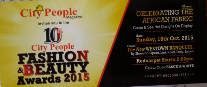 City People Fashion and Beauty Awards 2015