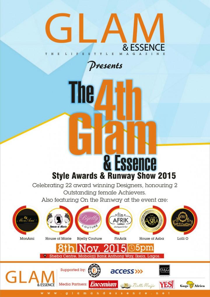 GLAM & ESSENCE Style- Awards & Runway Show 2015