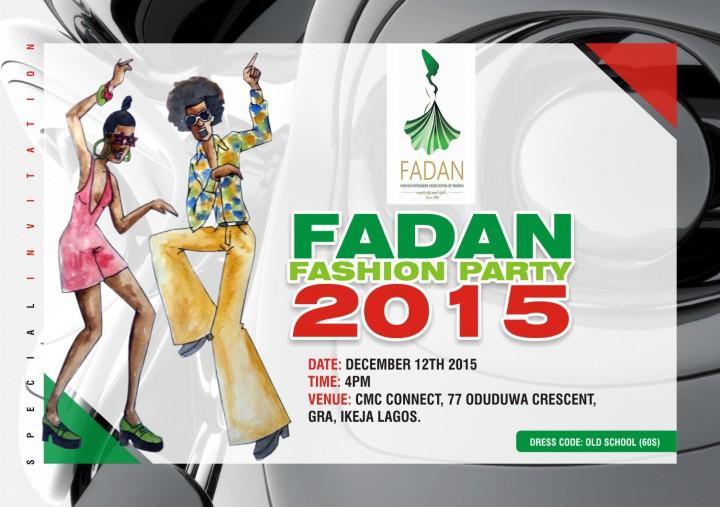 FADAN  FASHION PARTY