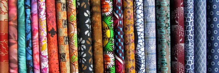 Who is winning the race of evolution in the textile and clothing industry in Africa?