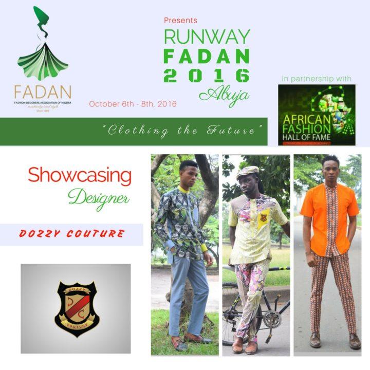 DOZZYCOUTURE Showcasing at Runway FADAN 2016