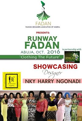 NKY HARY NGONADI Showcasing at Runway FADAN 2016