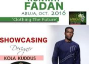 Kola Kuddus Showcasing at Runway FADAN 2016