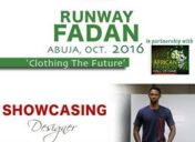 RUDAVSON CREATIONS Showcasing at Runway FADAN 2016