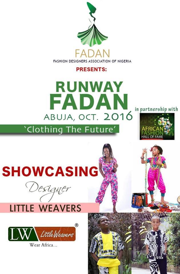 LITTLE WEAVERS Showcasing at Runway FADAN 2016
