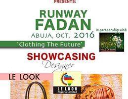 LE LOOK Showcasing at Runway FADAN 2016